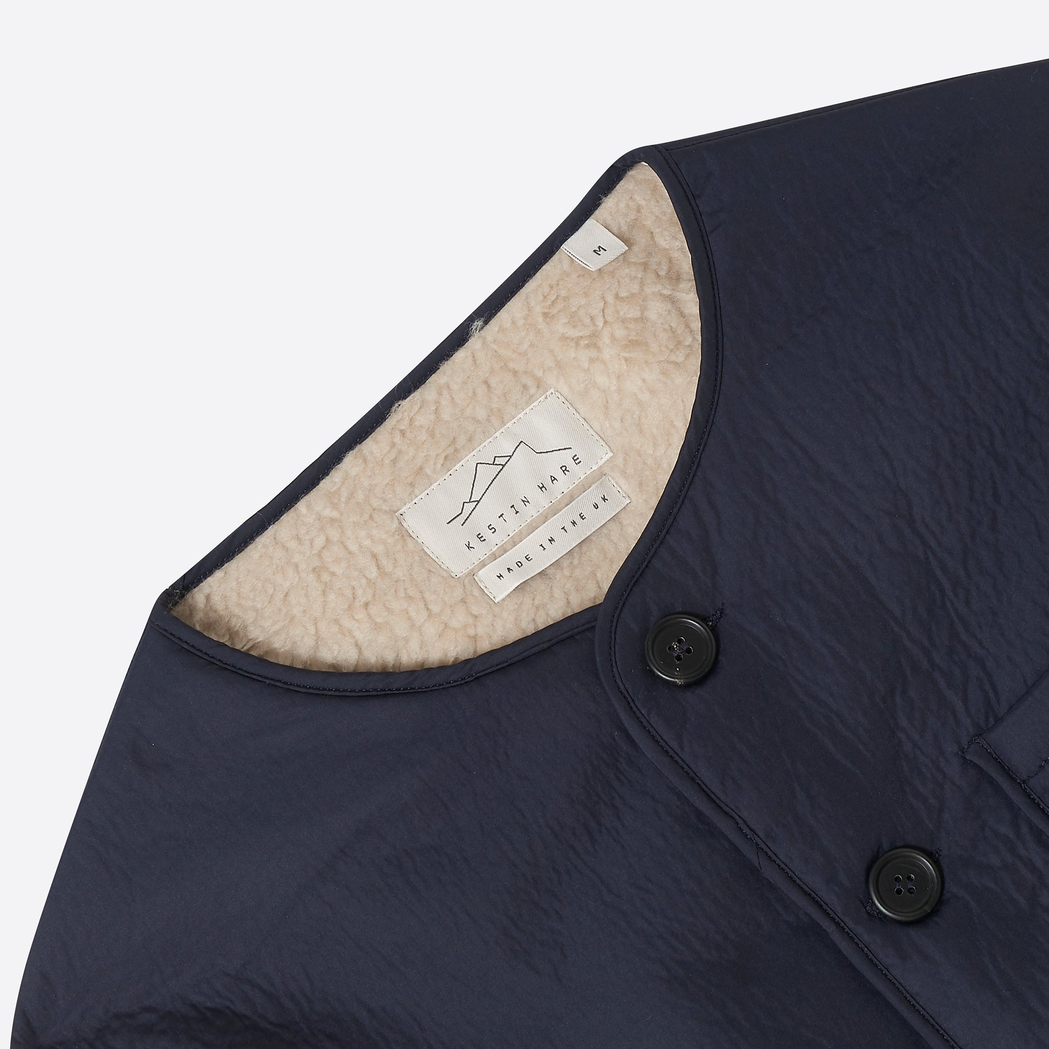 Kestin Hare Contour Jacket in Navy