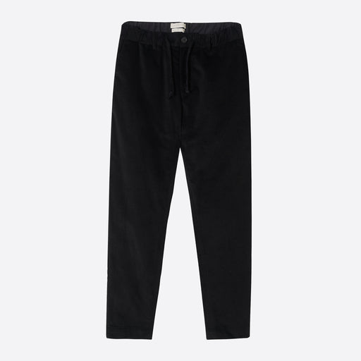 Kestin Hare Inverness Cord Trousers in Black