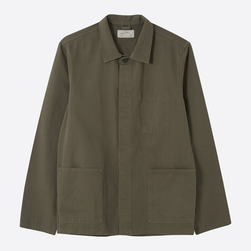 Kestin Hare Leith Shirt Jacket in Olive