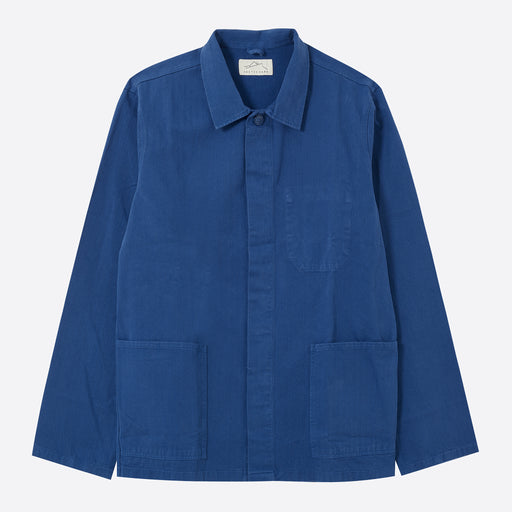 Kestin Hare Leith Shirt Jacket in French Navy