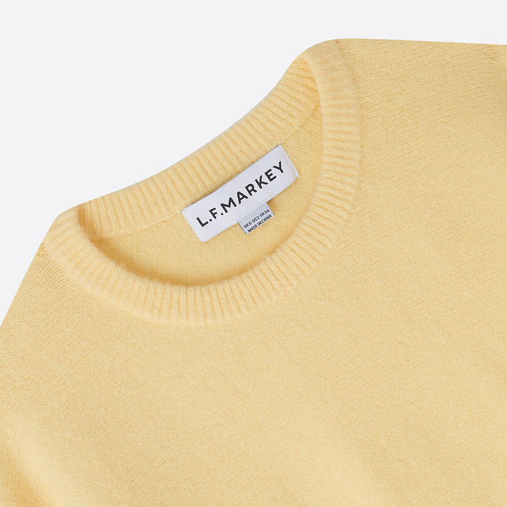 LF Markey Verne Knit Jumper in Yellow