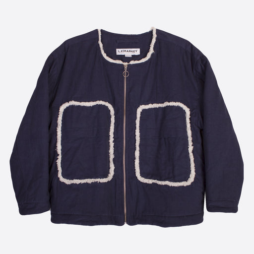 LF Markey Frank Jacket in Navy