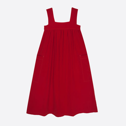 LF Markey Cameron Dress In Burnt Red