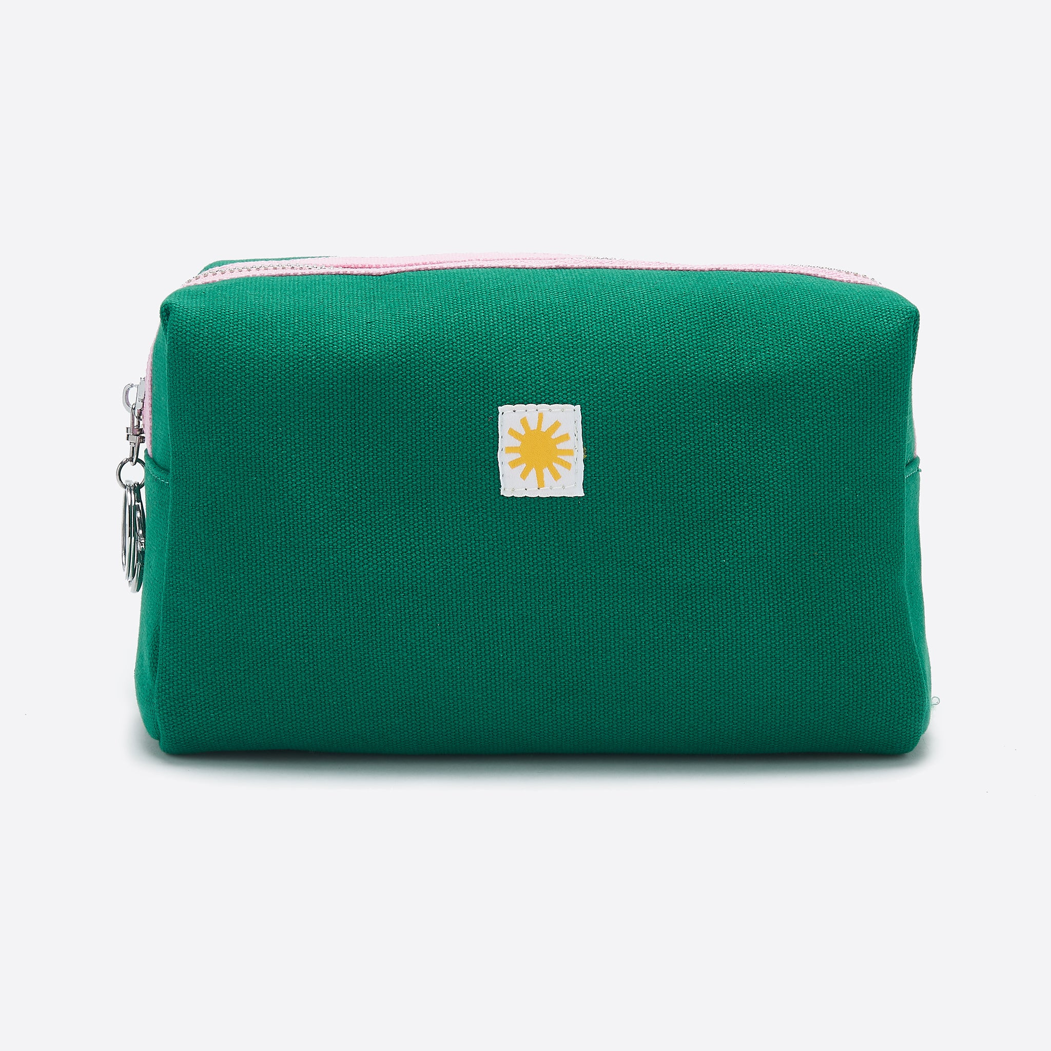 LF Markey Canvas Toiletry Bag in Green