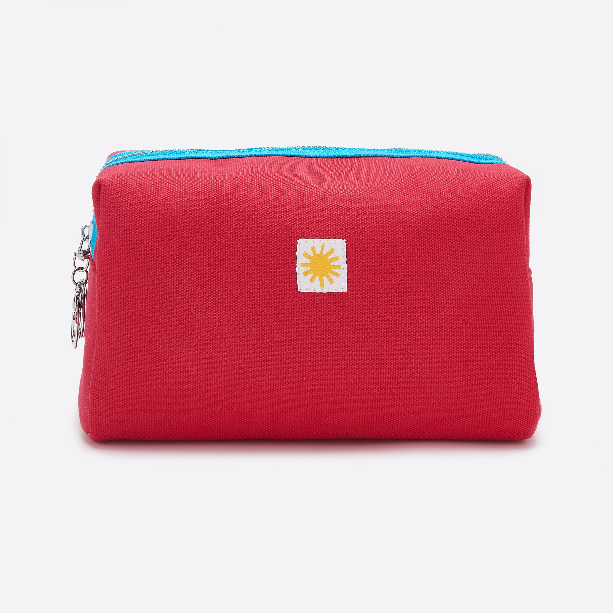 LF Markey Canvas Toiletry Bag in Red