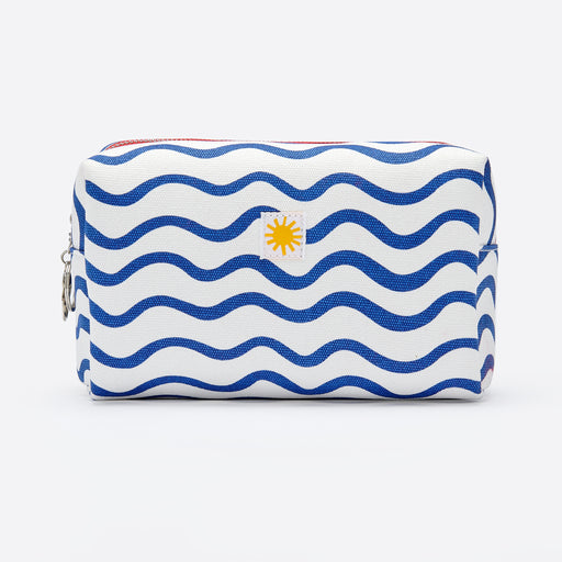LF Markey Canvas Toiletry Bag in Blue Wave