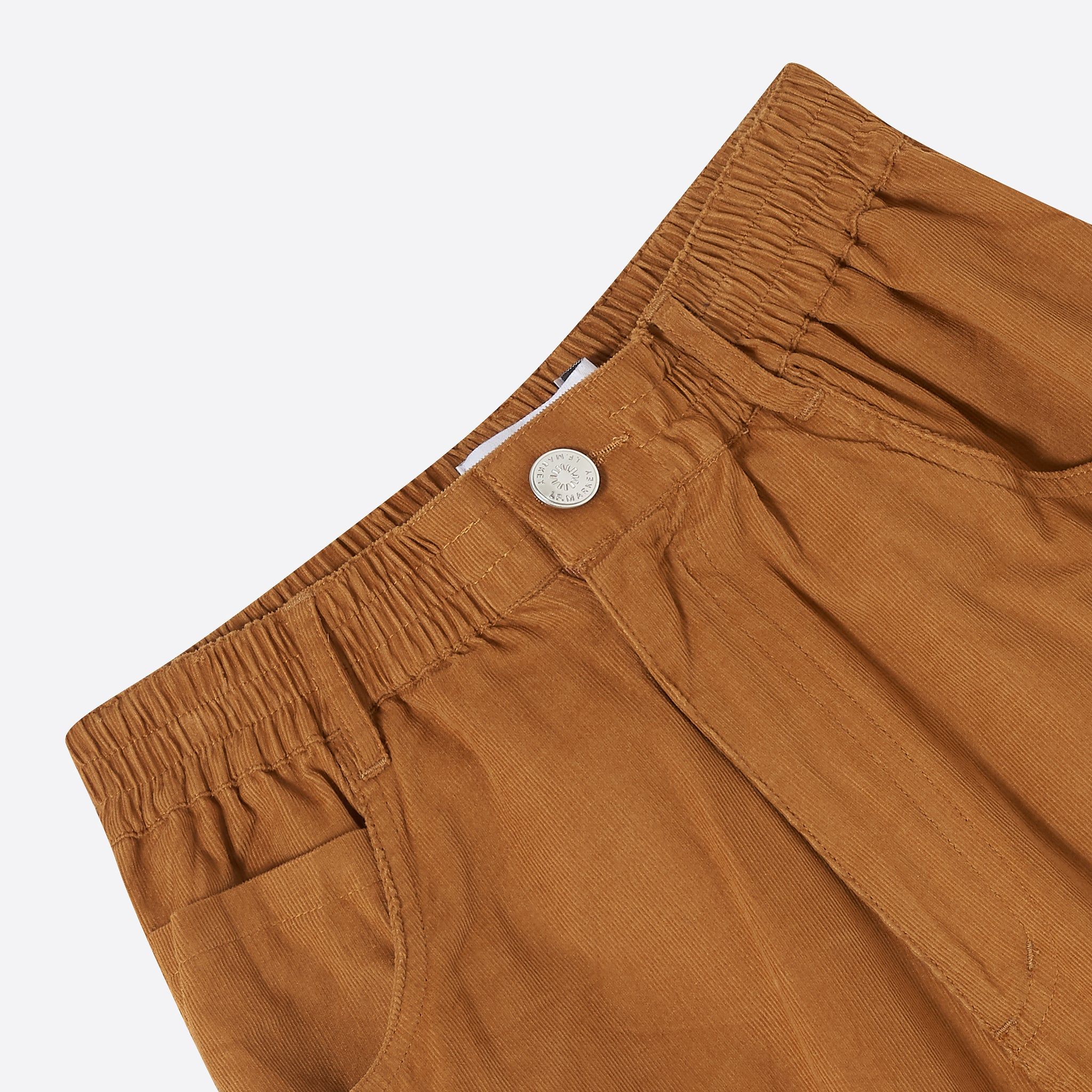 LF Markey Fat Boy Trousers in Chestnut Corduroy