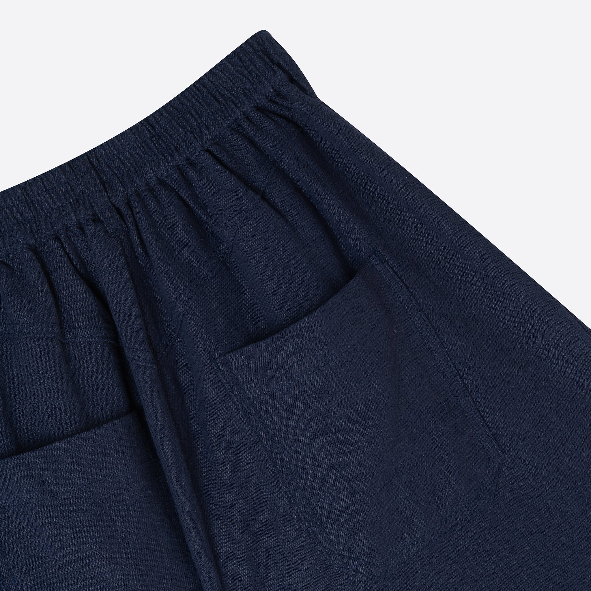 LF Markey Fergus Trouser in Navy Linen