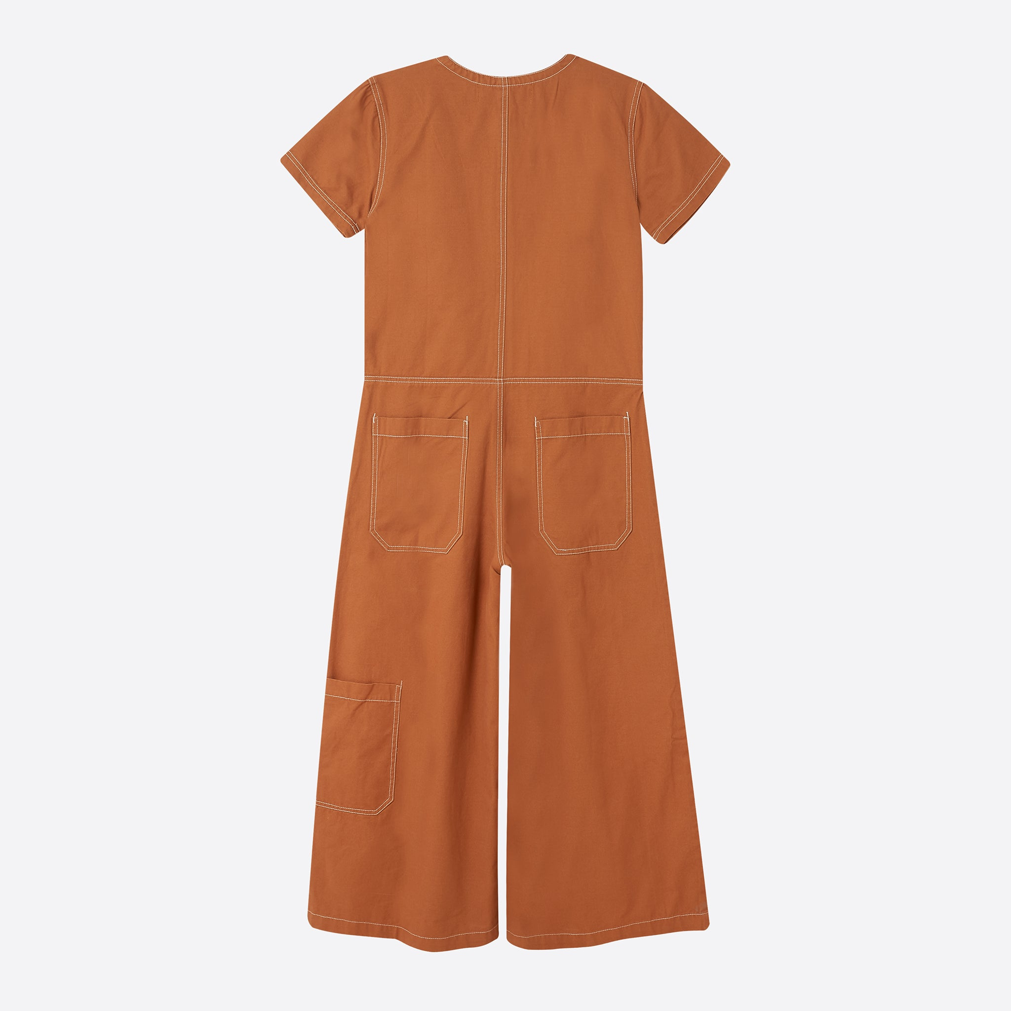 LF Markey Felix Boilersuit in Terracotta