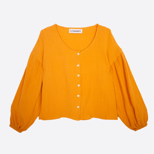 LF Markey Fletcher Shirt in Saffron