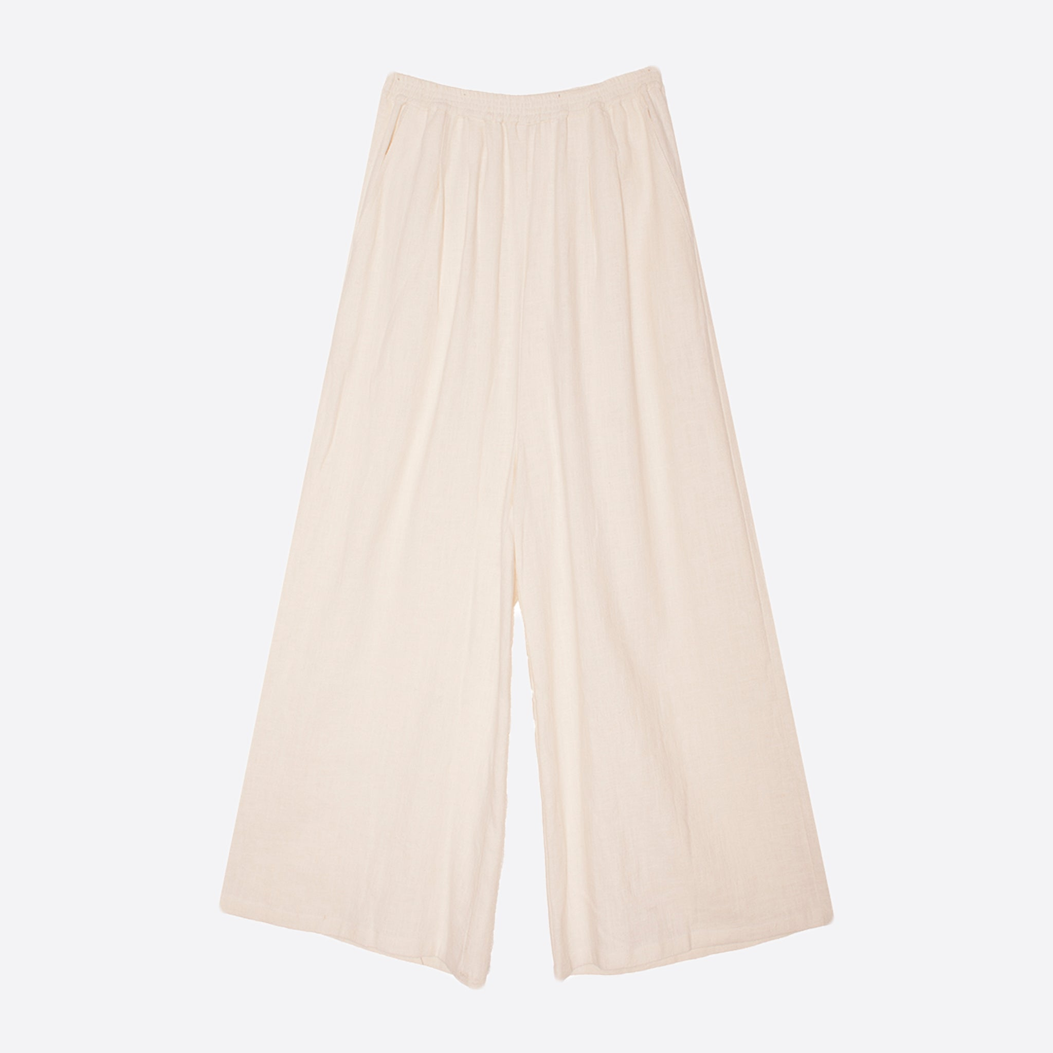 LF Markey Lachie Linen Trousers in Ivory