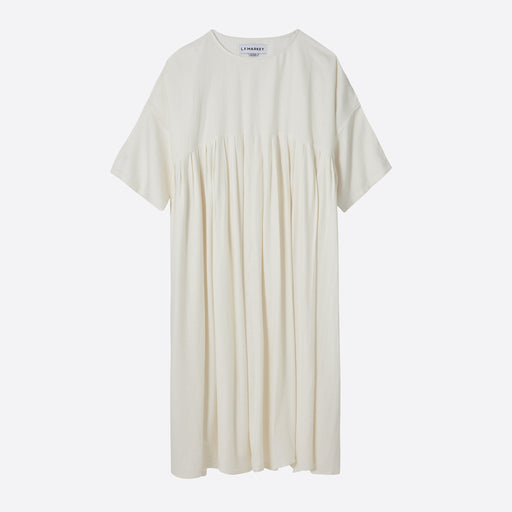 LF Markey Mega Dress in Ivory Linen