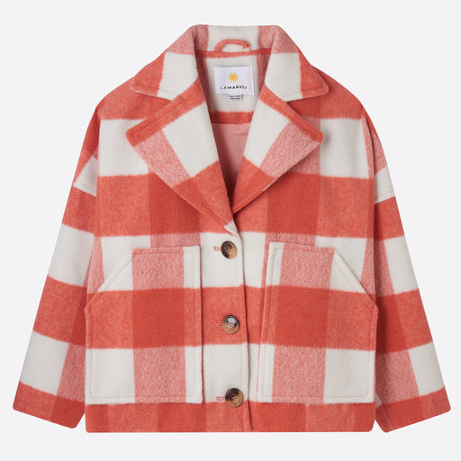 LF Markey Nolan Coat in Pink