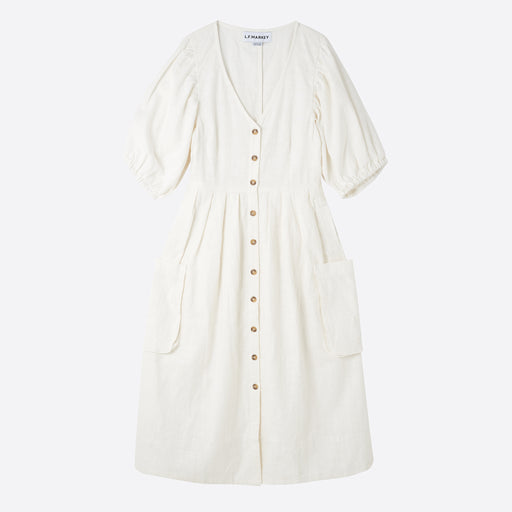 LF Markey Olan Dress in Off White