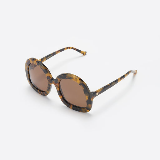 LF Markey Tete Sunglasses in Tortoiseshell