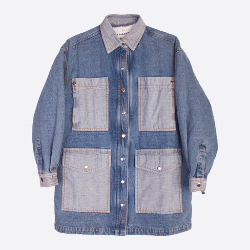 LF Markey Wyatt Jacket in Denim