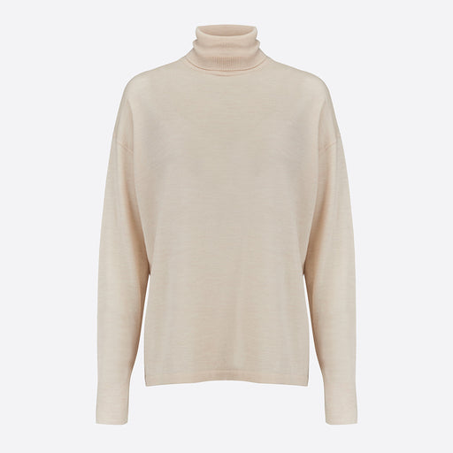 LF Markey Joshua Polo Neck in Ivory