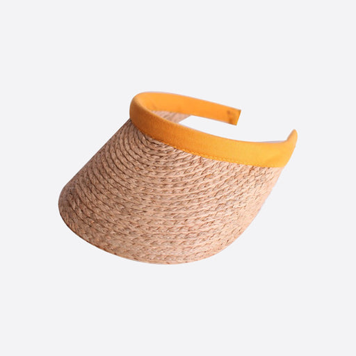 LF Markey Straw Visor in Natural