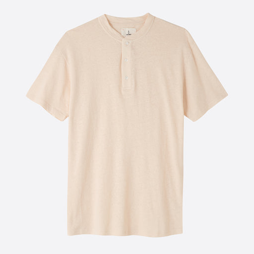 La Paz Ribas T-Shirt in Yellow Linen