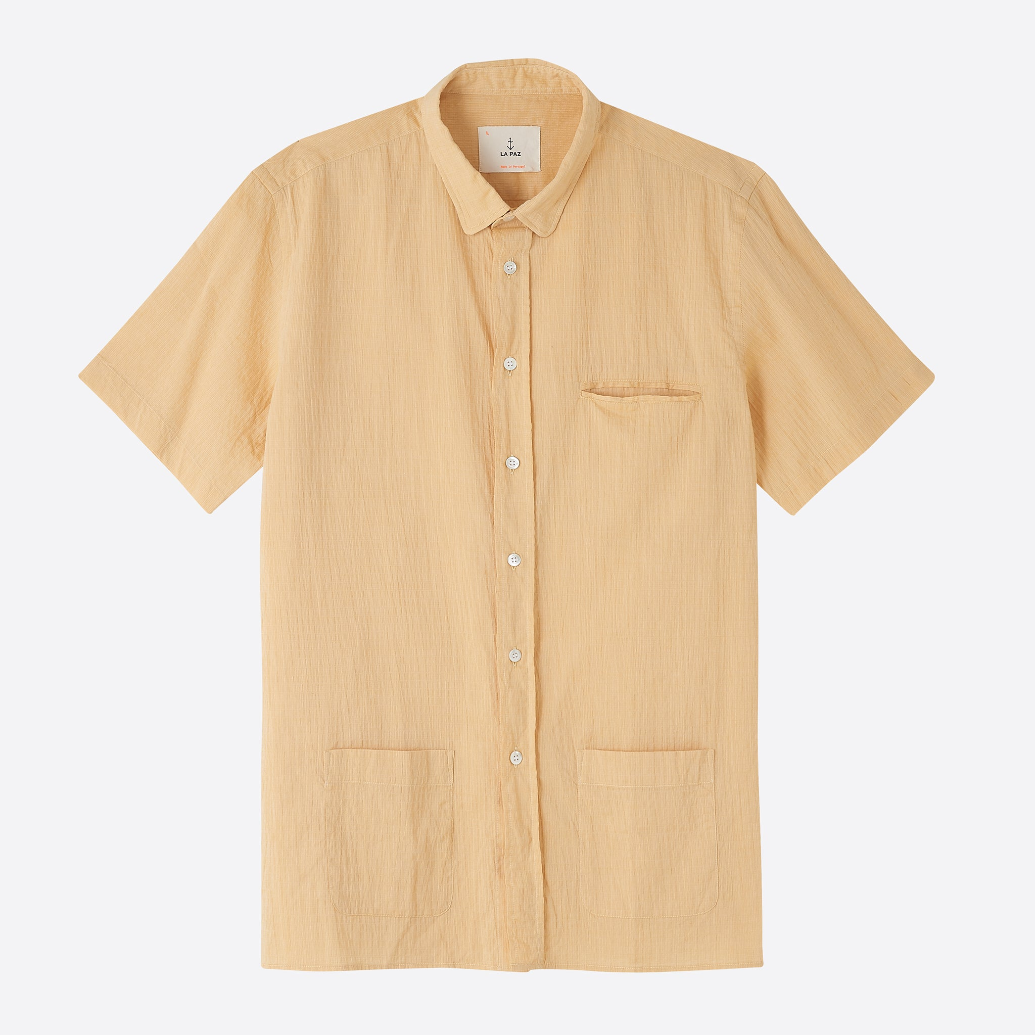 La Paz Castro Shirt in Yellow