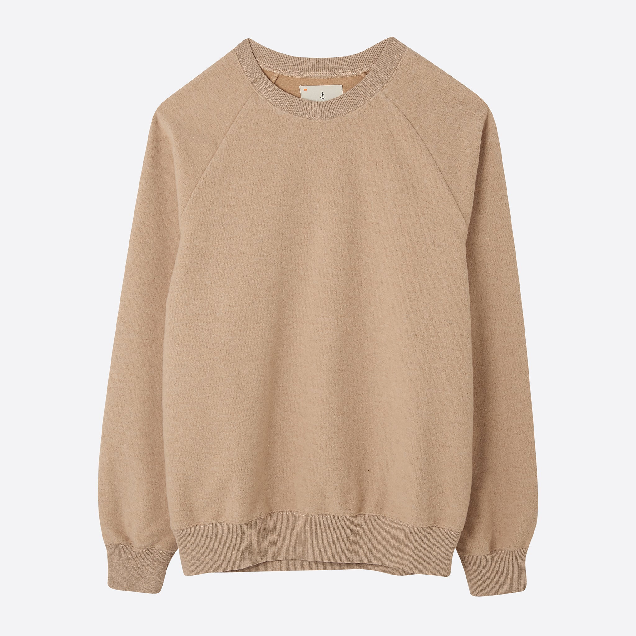 La Paz Cunha 2 Sweatshirt in Camel Upcycled Cotton