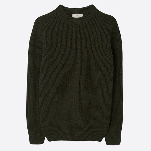 La Paz Teixeira Crew Neck Knit in Military Green