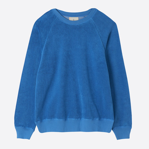 La Paz Pes Towel Sweatshirt in Blue