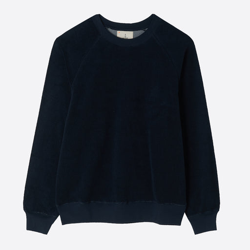 La Paz Towel Sweatshirt in Navy