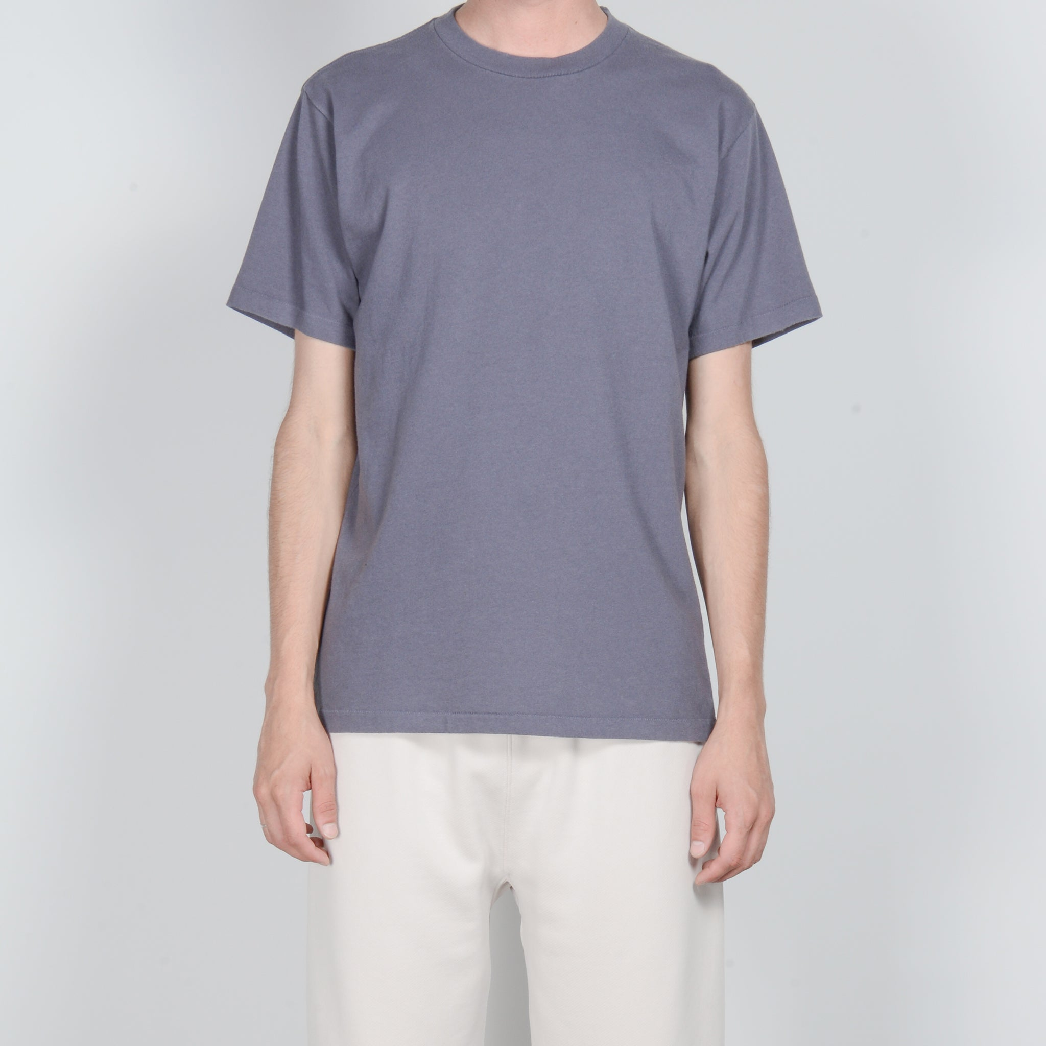 Lady White Co. Lite Basic T-Shirt in Night Grey