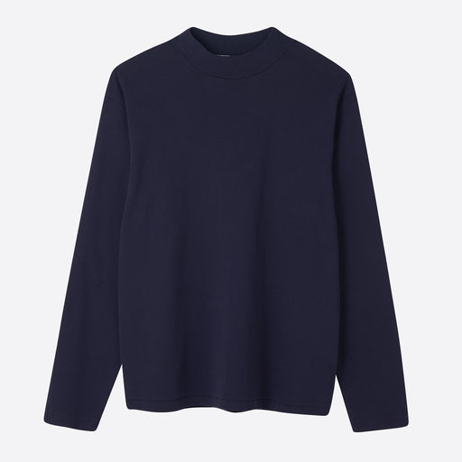 Lady White Co. Long Sleeve Mock Neck in Navy