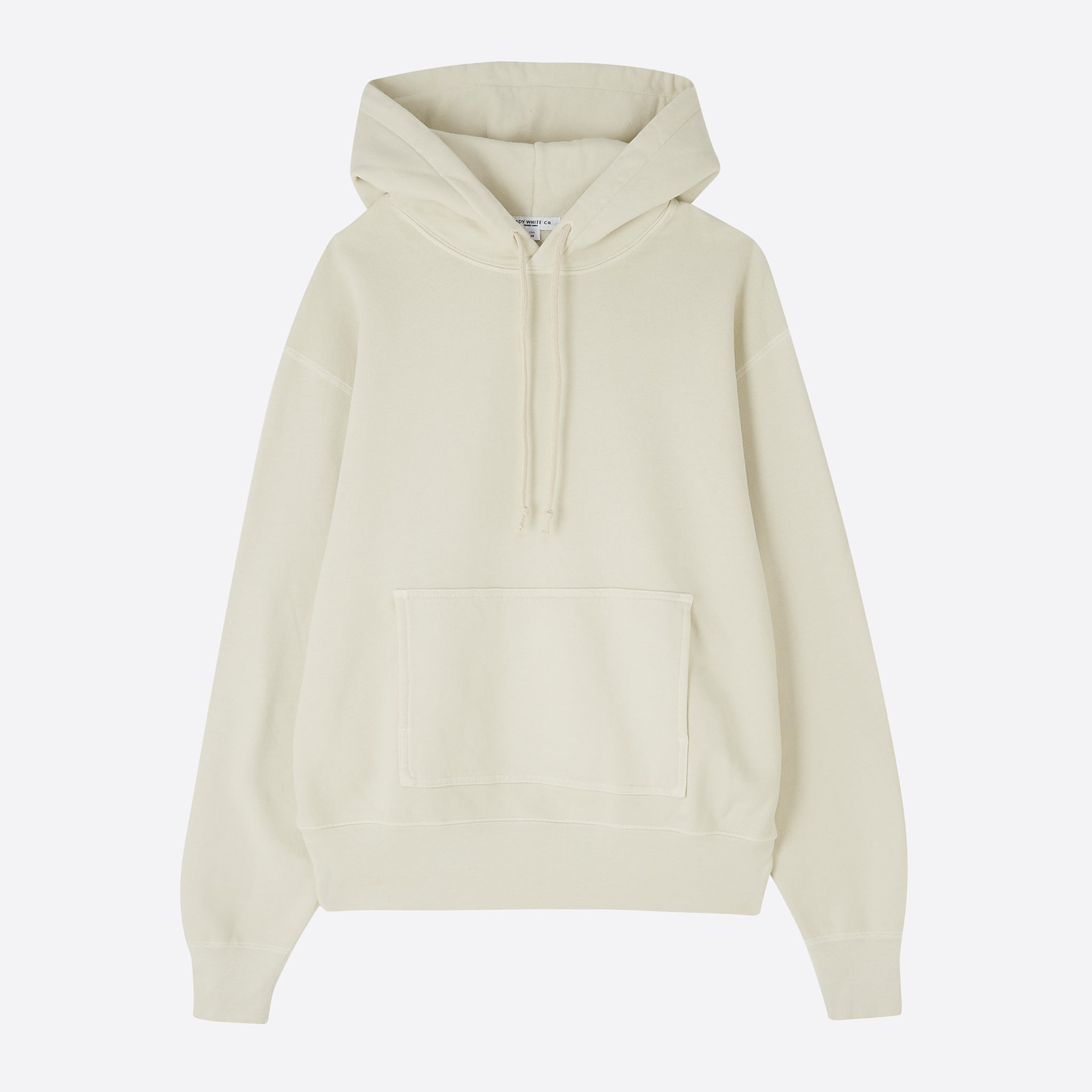 Lady White Co. Hoodie in Bone
