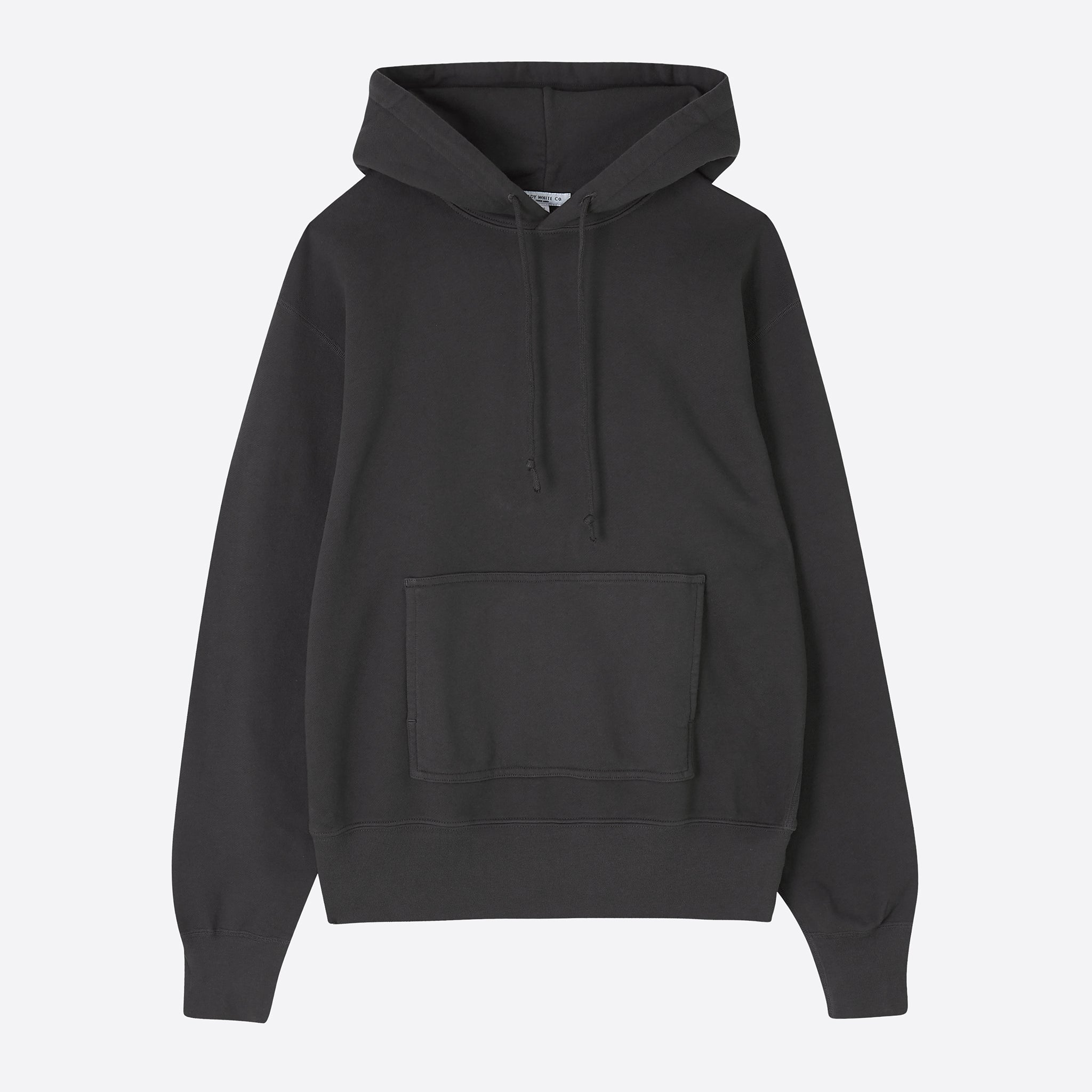 Lady White Co. Hoodie in Faded Black