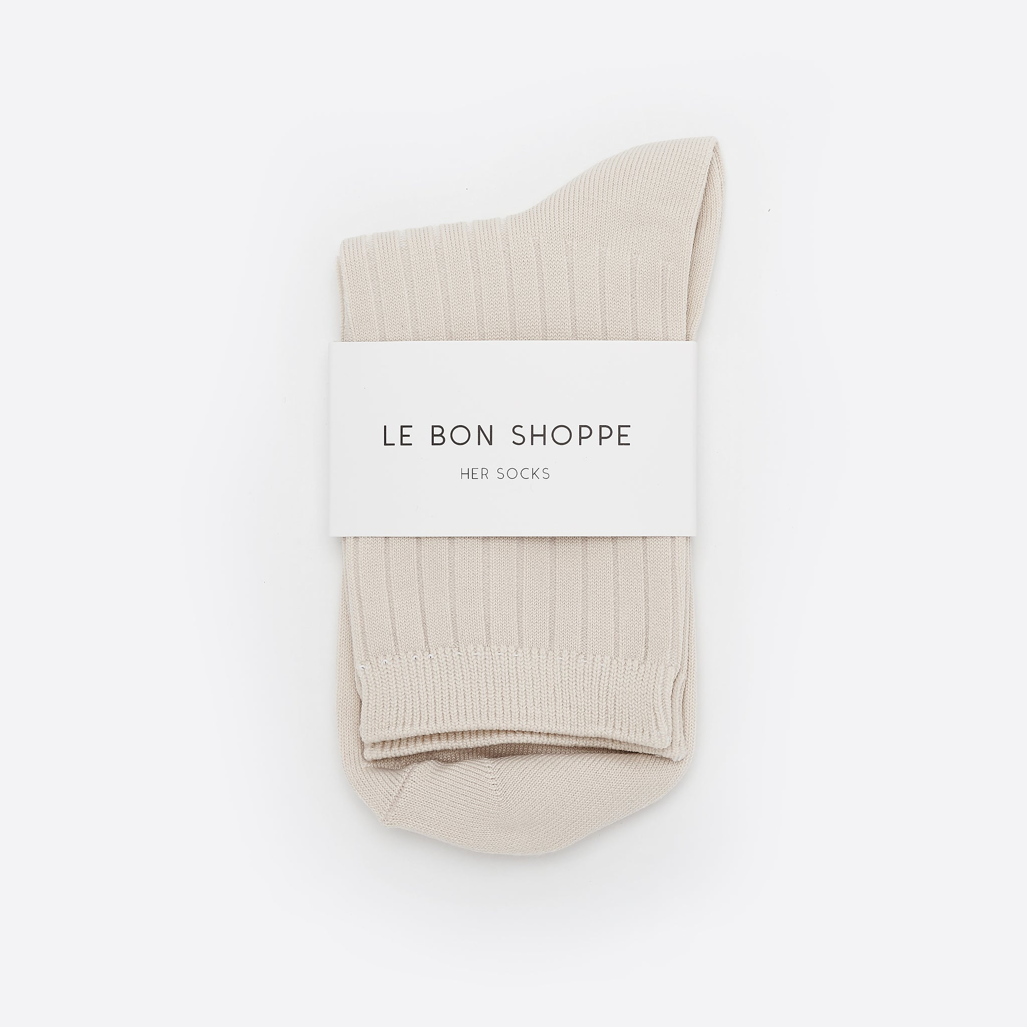 Le Bon Shoppe Her Socks in Bone