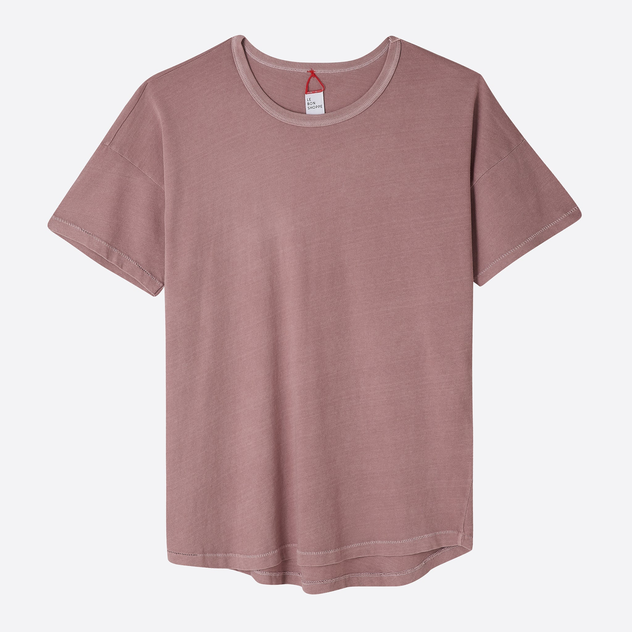 Le Bon Shoppe Her Tee in Dried Rose
