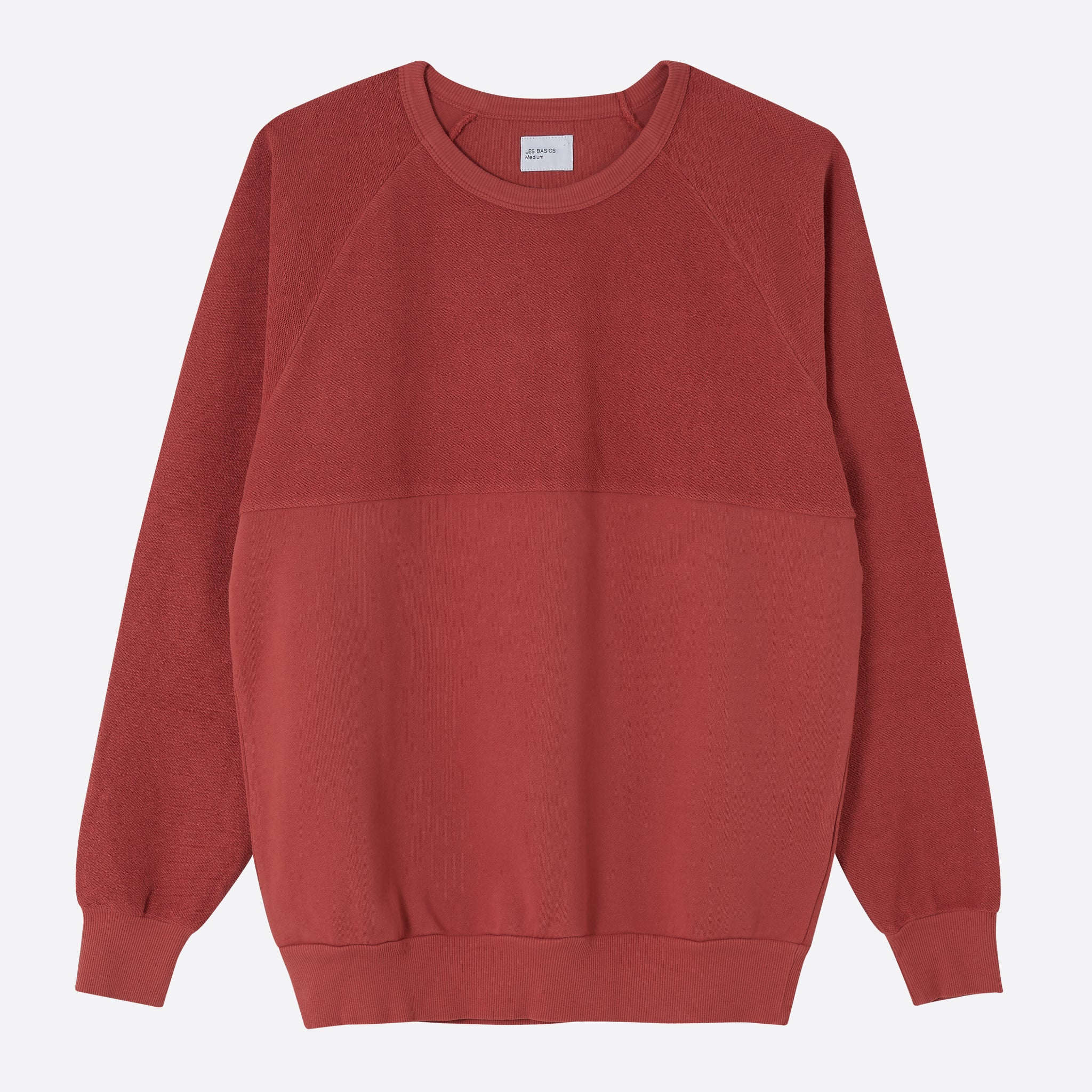 Les Basics Le 5050 Sweat in Red