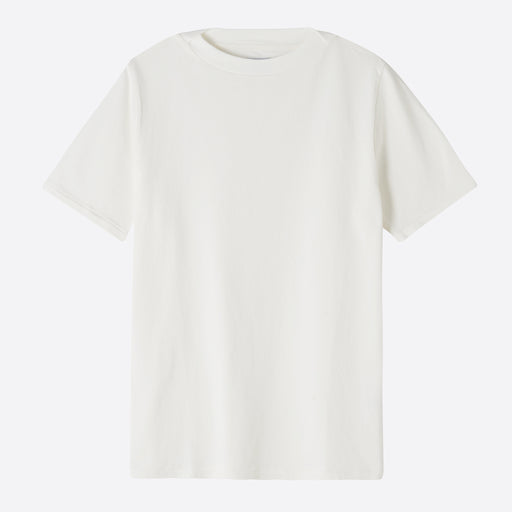 Les Basics Le Boat Neck Tee in White