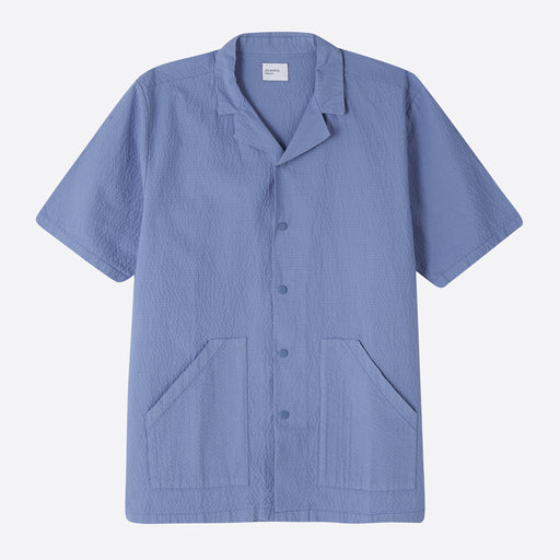 Les Basics Le Vacation Shirt in Cornflower