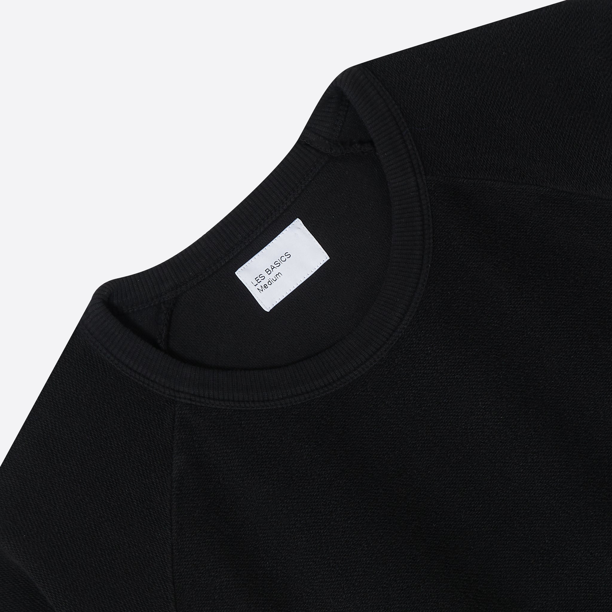 Les Basics Le Sweat Tee in Black