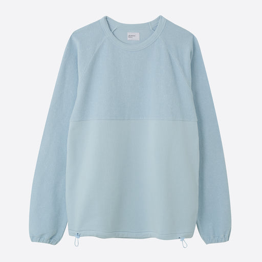 Les Basics Le Ribless Sweat in Sky