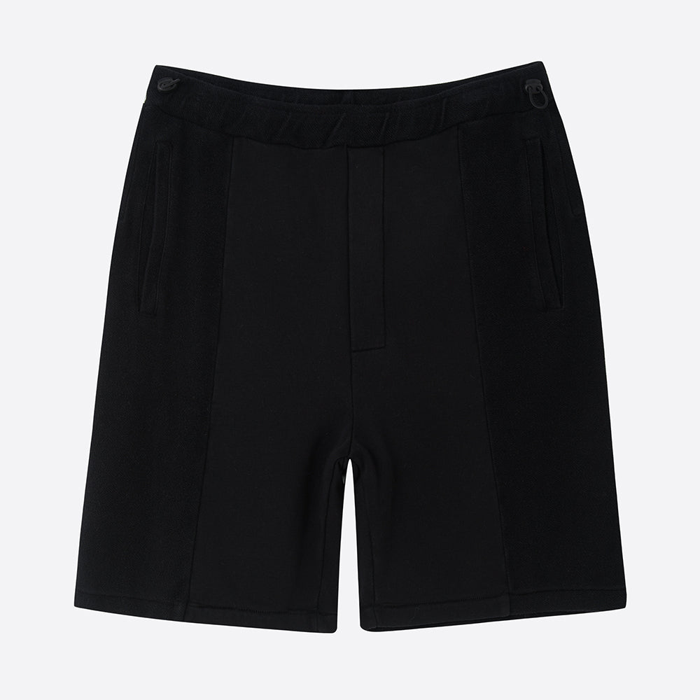 Les Basics Le Track Short in Black