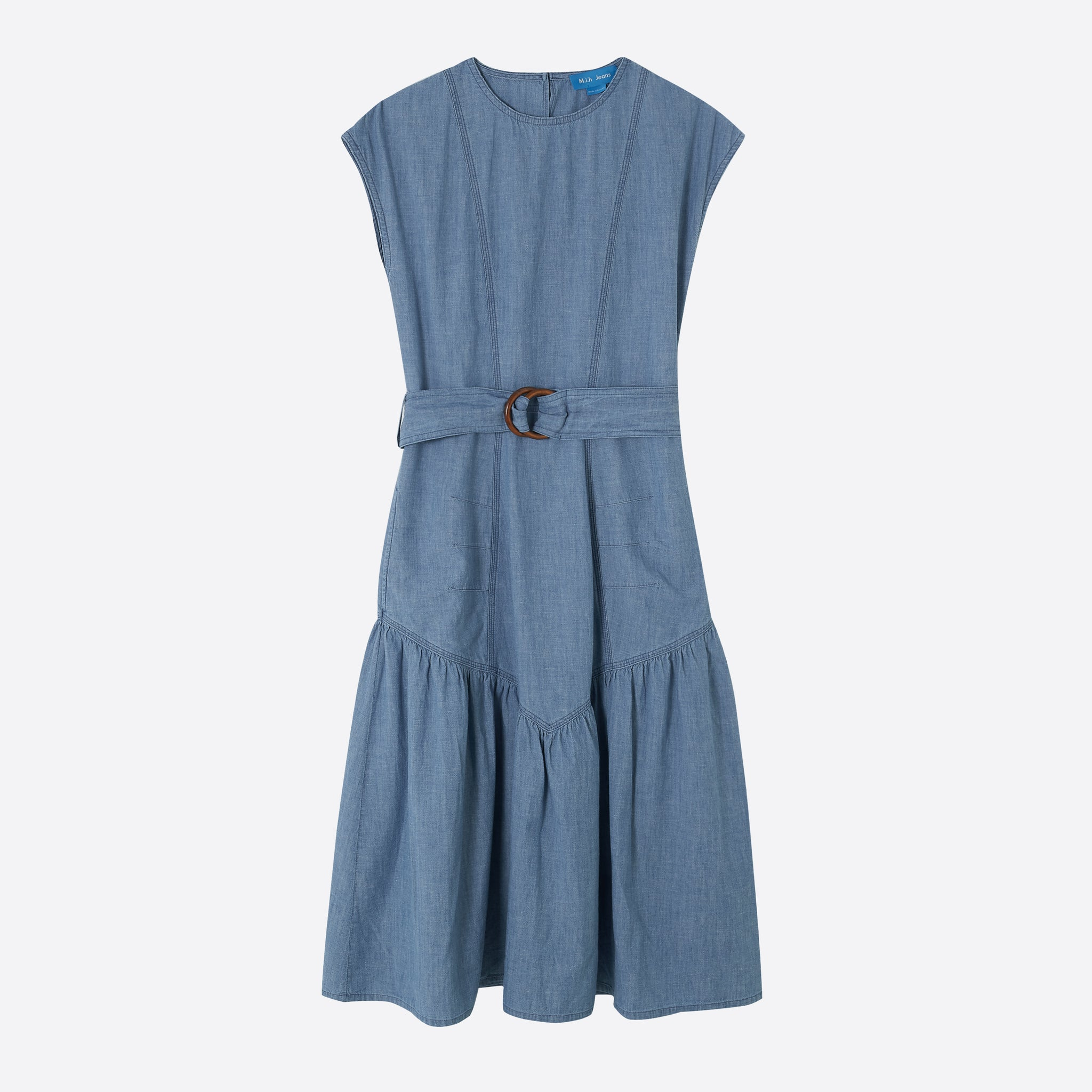 M.i.h Jeans Aubrey Dress in Indigo Chambray