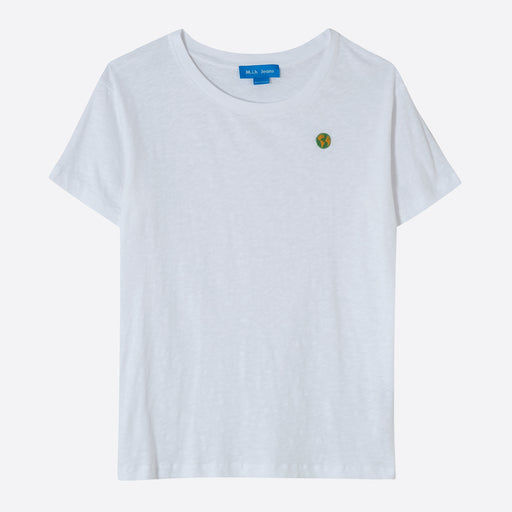 M.i.h Jeans Earth Tee in White