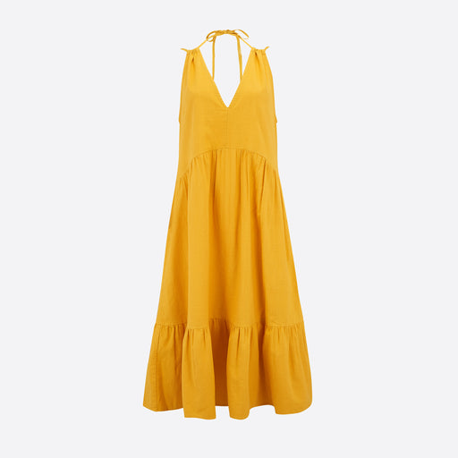 M.i.h Jeans Lita Sun Dress in Saffron
