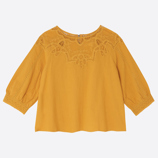 Meadows Wedelia Top in Saffron