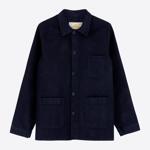 Le Mont Saint Michel Work Jacket in Navy