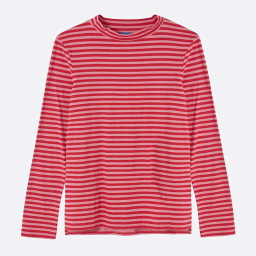 9b7bb562598e8 M.i.h Jeans Emelie Top in Rosa Pink and Cherry Red