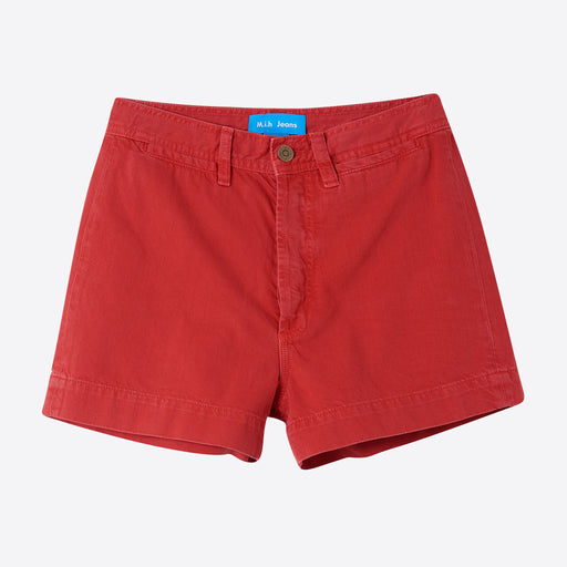 M.i.h Jeans Caron Short in Red