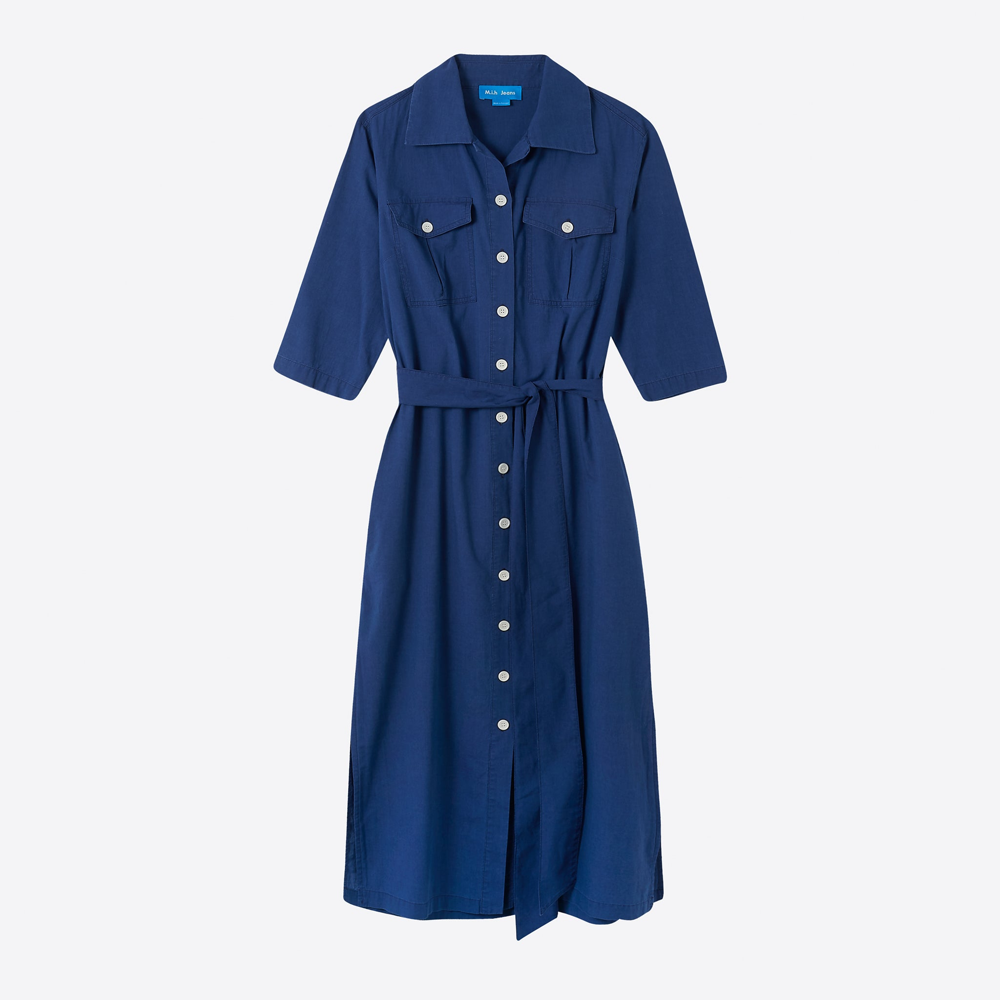 M.i.h Jeans Elise Dress in Blue Chambray
