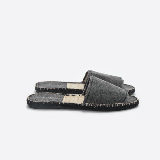 Mint & Rose Olivia Slide in Negro