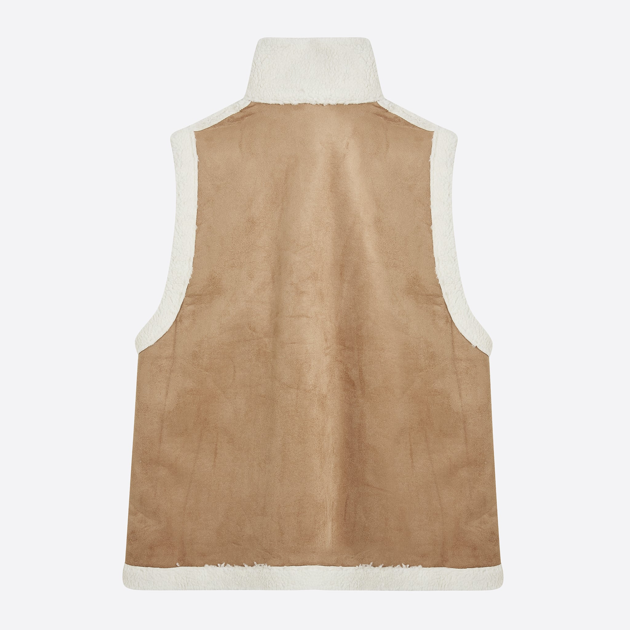 Mr Larkin Jade Vest in Natural